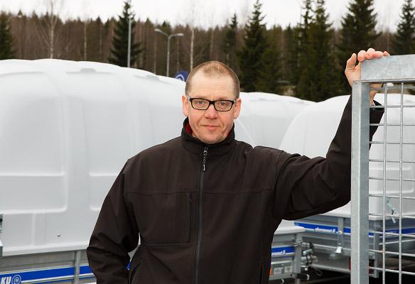 Kuopion Peräkärrykeskus, Marko Vironen