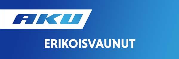 Aku erikoisvaunut Kuopion peräkärrykeskus