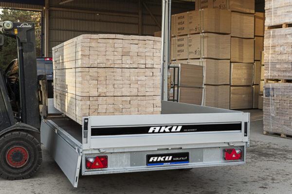 AKU CP400-DRB/DROP/3500KG lavettivaunu