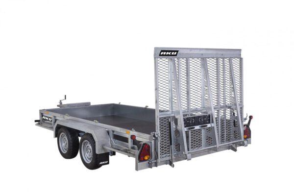 AKU TP385-DLB/3500KG koneenkuljetusvaunu